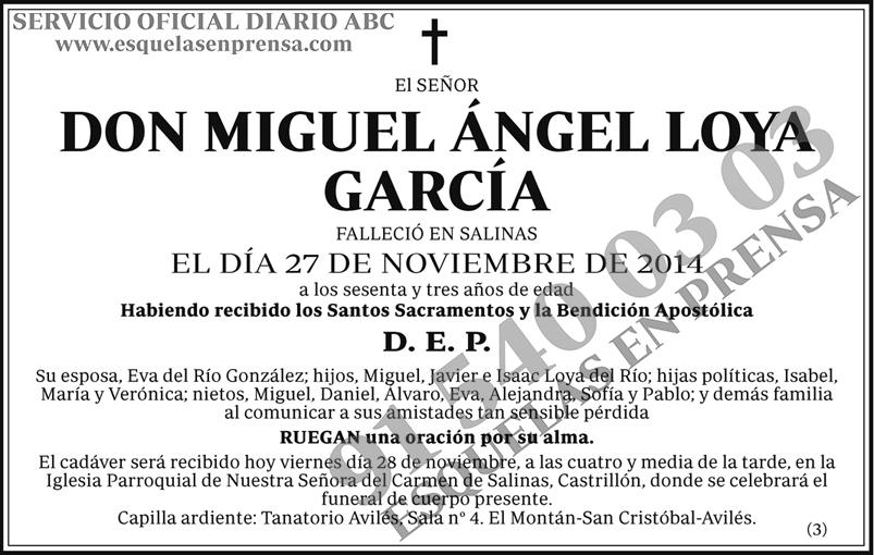 Miguel Ángel Loya García